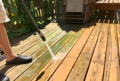 all around maintenance la center pressure washing